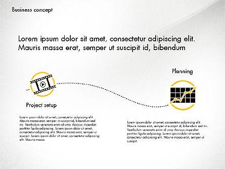 Startup Idea Presentation Template, Slide 2, 02940, Presentation Templates — PoweredTemplate.com