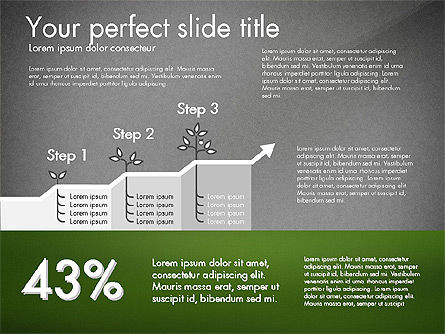 Growth Business Presentation Template, Slide 12, 02943, Presentation Templates — PoweredTemplate.com