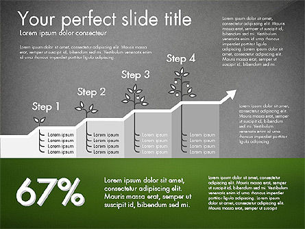 Growth Business Presentation Template, Slide 13, 02943, Presentation Templates — PoweredTemplate.com
