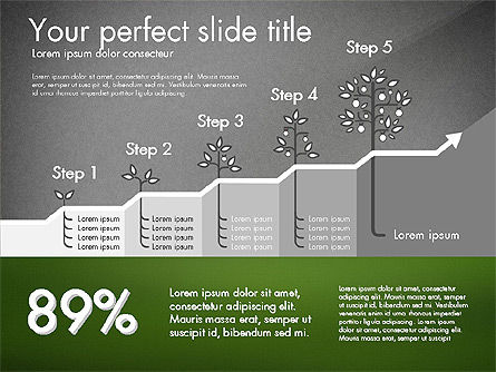 Growth Business Presentation Template, Slide 14, 02943, Presentation Templates — PoweredTemplate.com