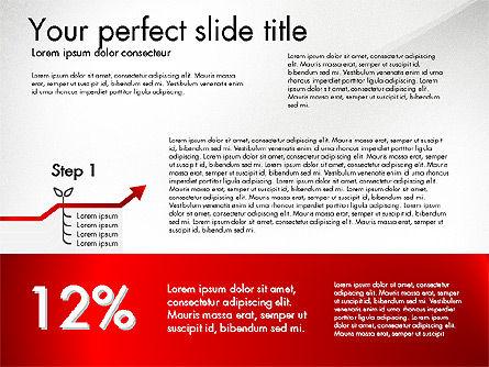 Growth Business Presentation Template, Slide 2, 02943, Presentation Templates — PoweredTemplate.com
