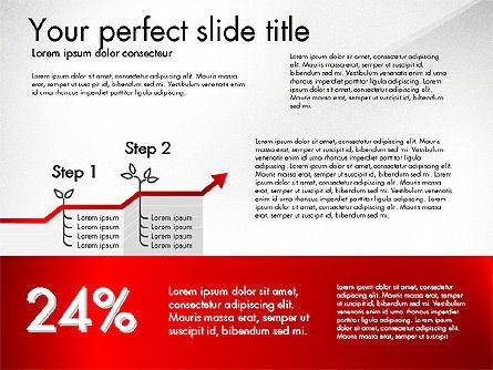 Growth Business Presentation Template, Slide 3, 02943, Presentation Templates — PoweredTemplate.com