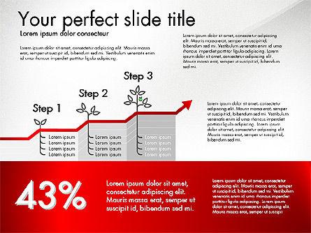 Growth Business Presentation Template, Slide 4, 02943, Presentation Templates — PoweredTemplate.com