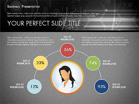 Illustrative Presentation Template, Slide 10, 02946, Presentation Templates — PoweredTemplate.com