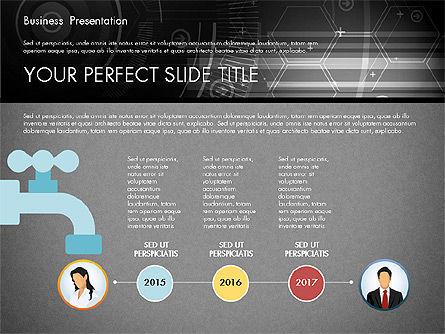 Illustrative Presentation Template, Slide 11, 02946, Presentation Templates — PoweredTemplate.com