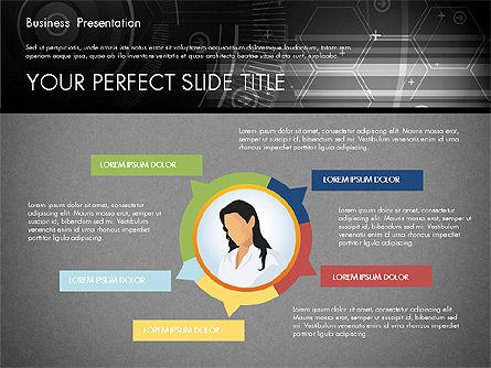 Illustrative Presentation Template, Slide 14, 02946, Presentation Templates — PoweredTemplate.com