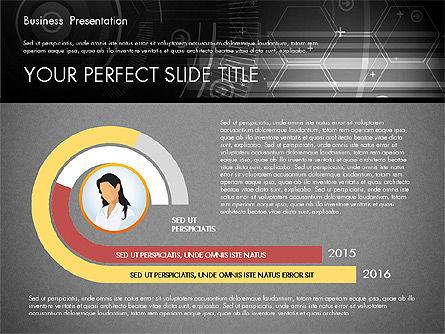 Illustrative Presentation Template, Slide 15, 02946, Presentation Templates — PoweredTemplate.com