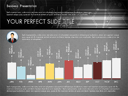 Illustrative Presentation Template, Slide 16, 02946, Presentation Templates — PoweredTemplate.com