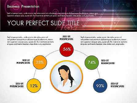 Illustrative Presentation Template, Slide 2, 02946, Presentation Templates — PoweredTemplate.com
