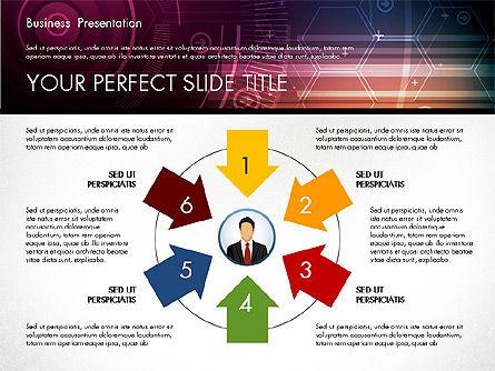 Illustrative Presentation Template, Slide 5, 02946, Presentation Templates — PoweredTemplate.com