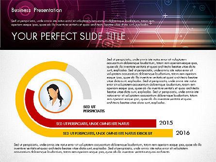 Illustrative Presentation Template, Slide 7, 02946, Presentation Templates — PoweredTemplate.com