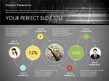 Illustrative Presentation Template, Slide 9, 02946, Presentation Templates — PoweredTemplate.com