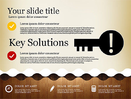 Business Presentation with Vivid Shapes, Slide 2, 02947, Presentation Templates — PoweredTemplate.com