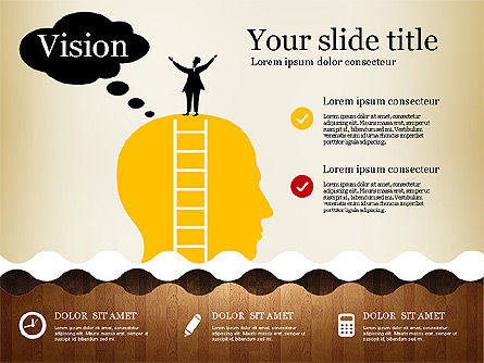 Business Presentation with Vivid Shapes, Slide 4, 02947, Presentation Templates — PoweredTemplate.com