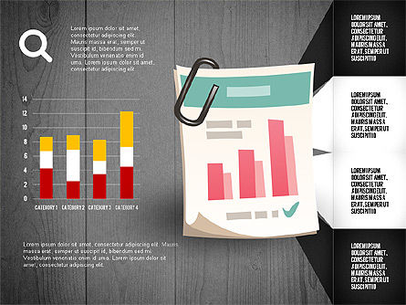 Infographics with Options and Charts, Slide 11, 02948, Stage Diagrams — PoweredTemplate.com