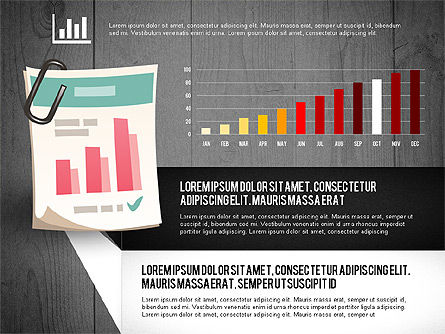 Infographics with Options and Charts, Slide 15, 02948, Stage Diagrams — PoweredTemplate.com