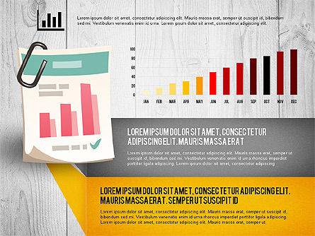 Infographics with Options and Charts, Slide 7, 02948, Stage Diagrams — PoweredTemplate.com
