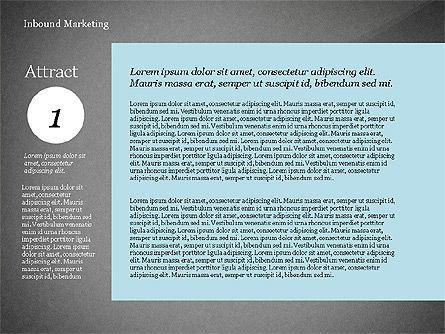 Inbound Marketing Diagram, Slide 10, 02949, Business Models — PoweredTemplate.com