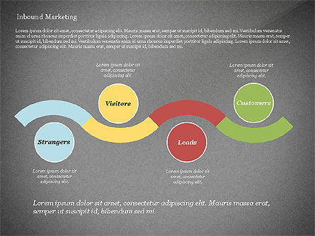 Inbound Marketing Diagram, Slide 11, 02949, Business Models — PoweredTemplate.com