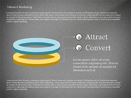 Inbound Marketing Diagram, Slide 13, 02949, Business Models — PoweredTemplate.com