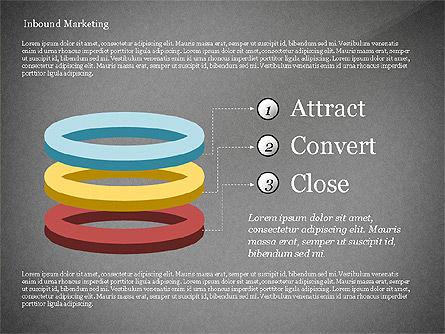 Inbound Marketing Diagram, Slide 14, 02949, Business Models — PoweredTemplate.com