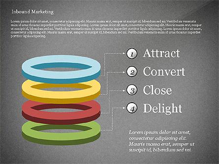 Inbound Marketing Diagram, Slide 15, 02949, Business Models — PoweredTemplate.com