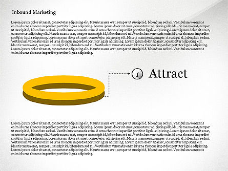 Inbound Marketing Diagram, Slide 4, 02949, Business Models — PoweredTemplate.com