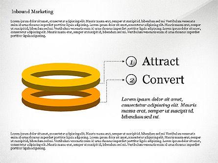 Inbound Marketing Diagram, Slide 5, 02949, Business Models — PoweredTemplate.com