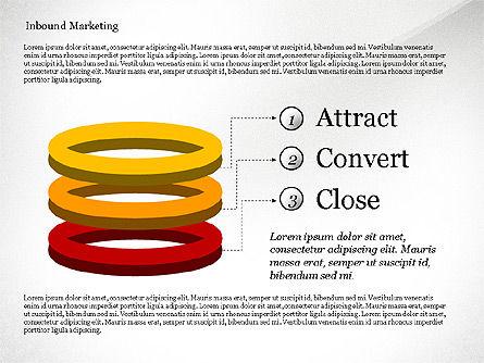 Inbound Marketing Diagram, Slide 6, 02949, Business Models — PoweredTemplate.com