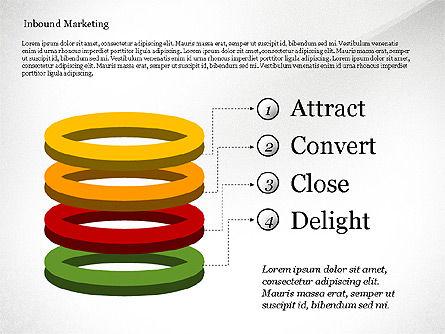 Inbound Marketing Diagram, Slide 7, 02949, Business Models — PoweredTemplate.com