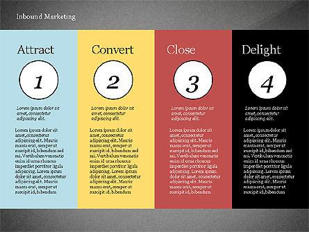 Inbound Marketing Diagram, Slide 9, 02949, Business Models — PoweredTemplate.com