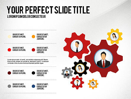 Business Team Presentation Concept, 02950, Presentation Templates — PoweredTemplate.com