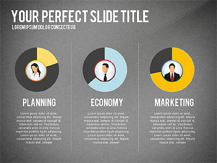 Business Team Presentation Concept, Slide 10, 02950, Presentation Templates — PoweredTemplate.com