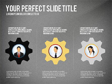 Business Team Presentation Concept, Slide 12, 02950, Presentation Templates — PoweredTemplate.com