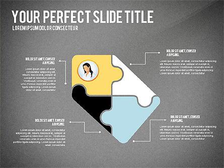 Business Team Presentation Concept, Slide 13, 02950, Presentation Templates — PoweredTemplate.com