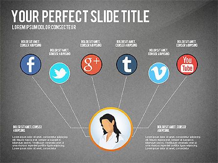Business Team Presentation Concept, Slide 14, 02950, Presentation Templates — PoweredTemplate.com