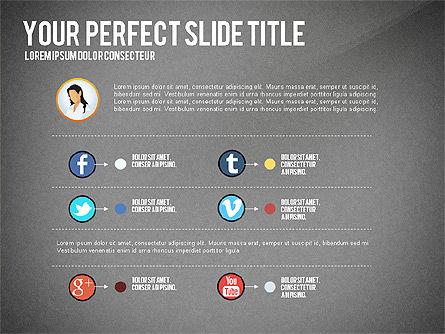 Business Team Presentation Concept, Slide 16, 02950, Presentation Templates — PoweredTemplate.com