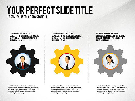 Business Team Presentation Concept, Slide 4, 02950, Presentation Templates — PoweredTemplate.com