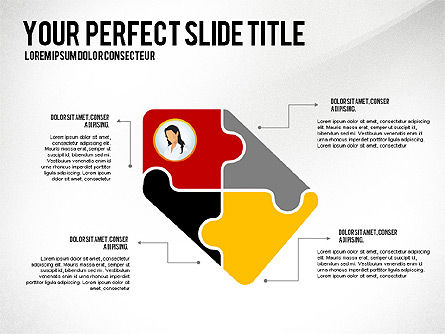 Business Team Presentation Concept, Slide 5, 02950, Presentation Templates — PoweredTemplate.com