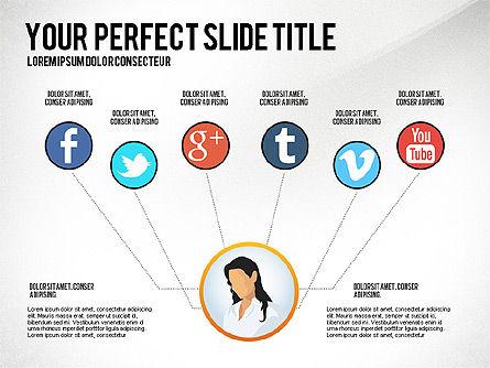 Business Team Presentation Concept, Slide 6, 02950, Presentation Templates — PoweredTemplate.com