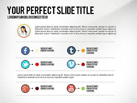 Business Team Presentation Concept, Slide 8, 02950, Presentation Templates — PoweredTemplate.com