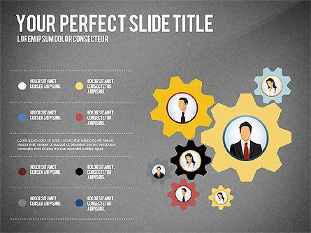 Business Team Presentation Concept, Slide 9, 02950, Presentation Templates — PoweredTemplate.com