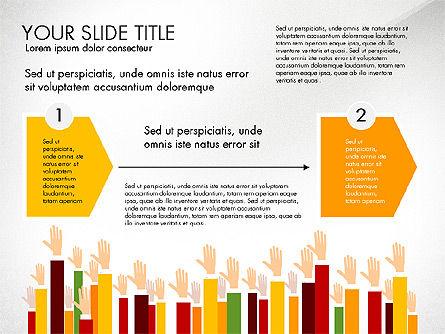 Hands Up Presentation Concept Slide 2
