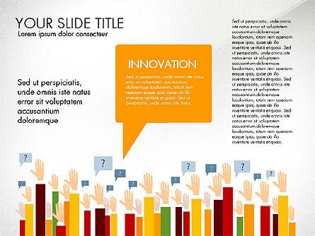 Hands Up Presentation Concept Slide 3