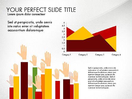 Hands Up Presentation Concept, Slide 8, 02951, Presentation Templates — PoweredTemplate.com