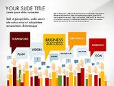 Presentation Templates: Hands Up Presentation Concept #02951