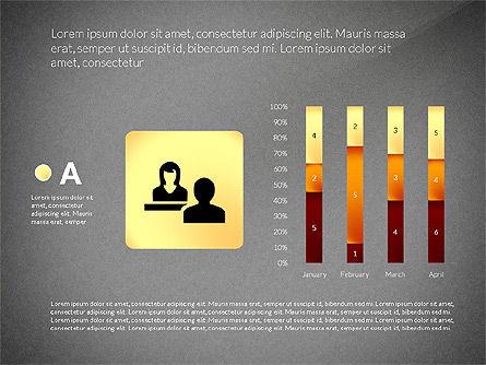Staff Management Presentation Template, Slide 12, 02952, Business Models — PoweredTemplate.com