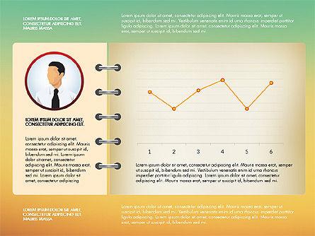 Report Concept Data Driven Charts, Slide 10, 02954, Data Driven Diagrams and Charts — PoweredTemplate.com