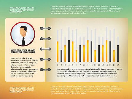 Report Concept Data Driven Charts, Slide 11, 02954, Data Driven Diagrams and Charts — PoweredTemplate.com