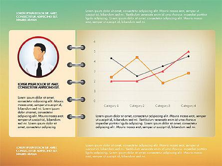 Report Concept Data Driven Charts, Slide 12, 02954, Data Driven Diagrams and Charts — PoweredTemplate.com